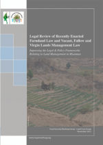 Legal Review of Farmland Law and Vacant Fallow and Virgin Land Management Law